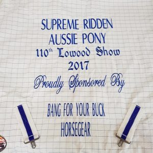 trophy horse rugs, embroidery horse rugs